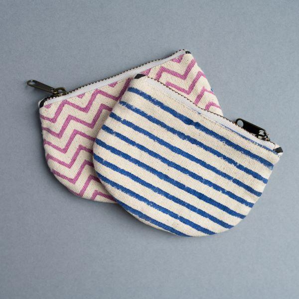love print mini purse
