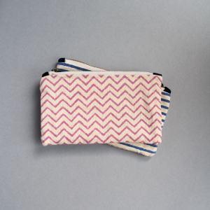 love print purse