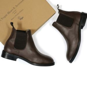 vegan waterproof Chelsea boots