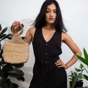 Mini Handmade Bag In Jute