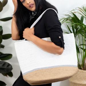 Noori Large Handmade Shoulder Bag