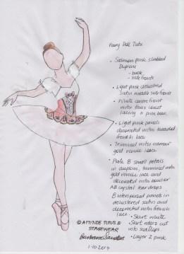 Fairy Doll Sketch 001