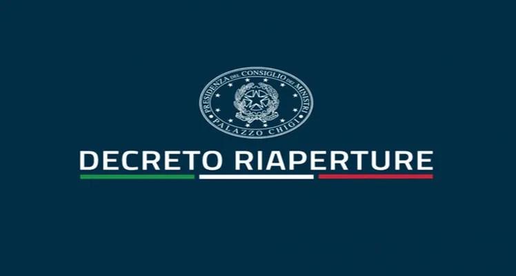 Nuovo Dl Riaperture, uscito in Gazzetta Ufficiale.