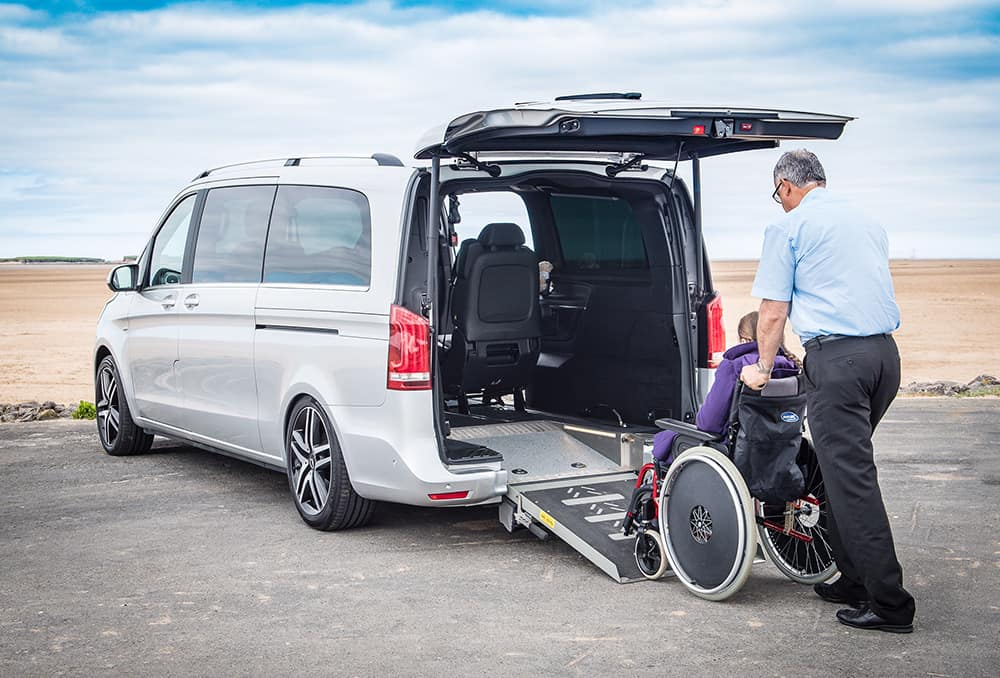 A Lewis Reed wheelchair accessible vehicle image
