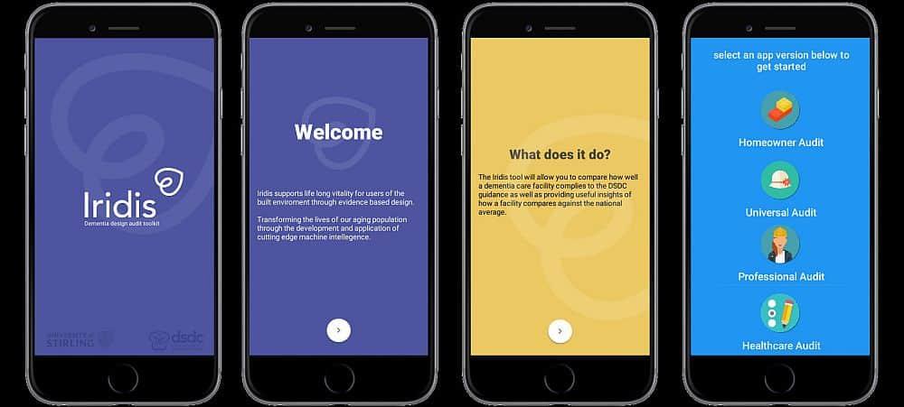 IRIDIS app