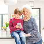 People with mobility or memory needs to stay warm during winter with smart home heating system