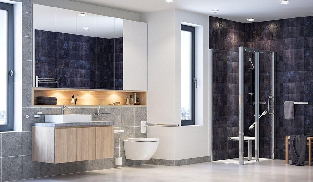AKW Onyx bathroom image
