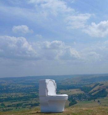 Peak District accessible toilet image