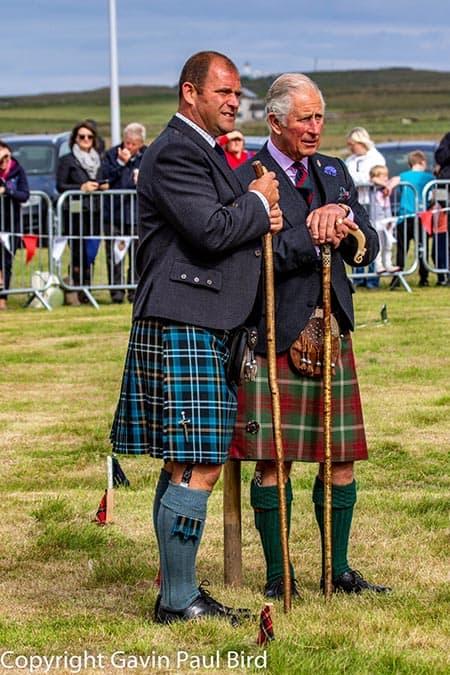 Prince Charles at the Adaptive Highland Games image
