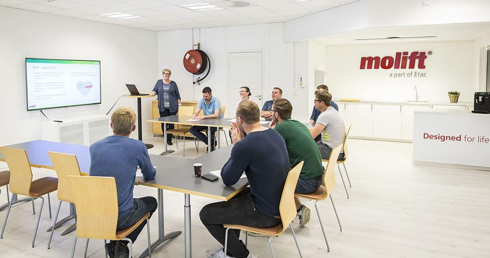 Etac R82 Overhead Hoisting Problem Solving Workshops image