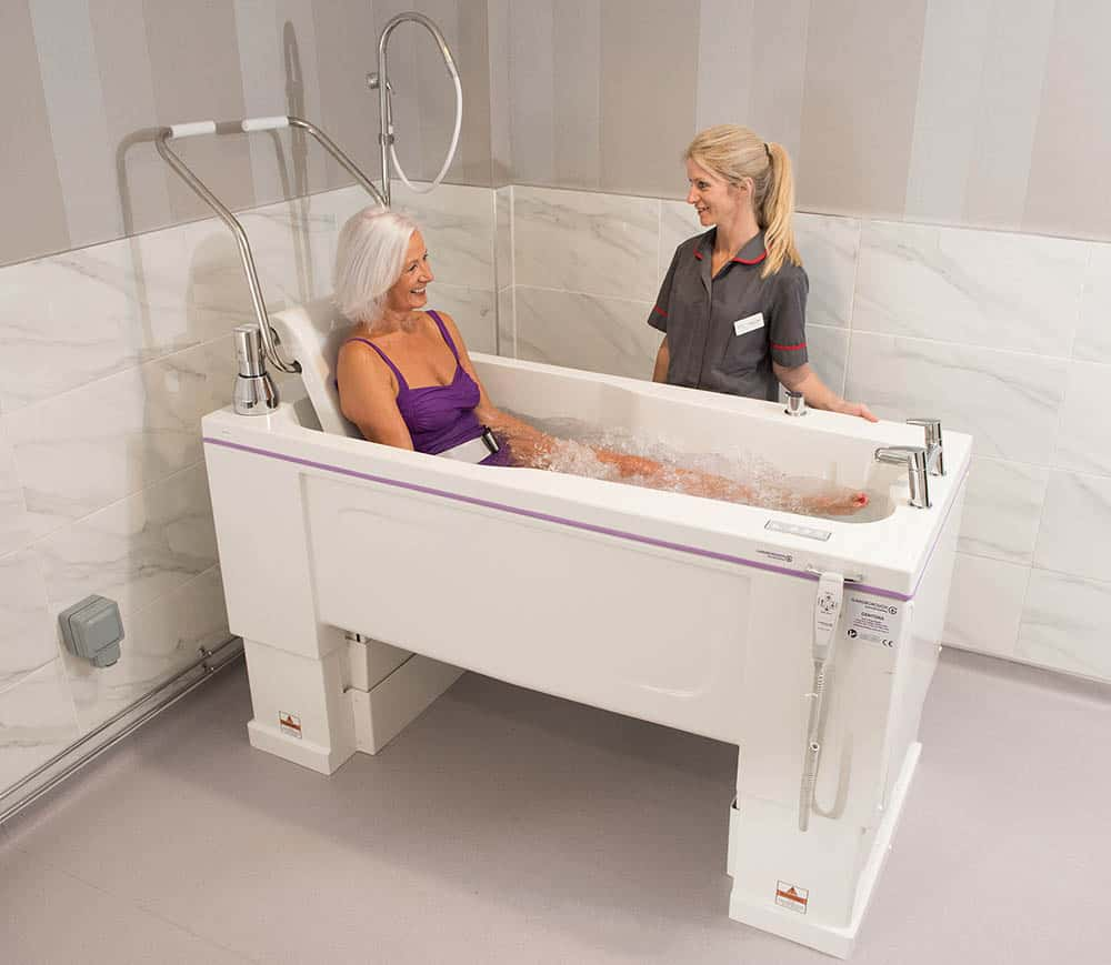 Gainsborough Gentona bath image