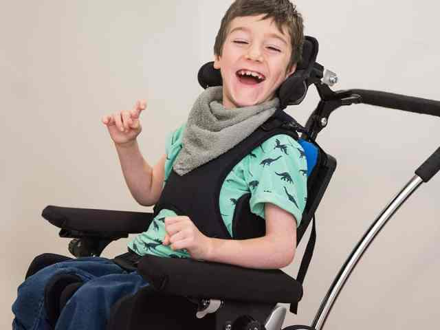 Enhanced dynamic paediatric seating system to be showcased at Kidz North