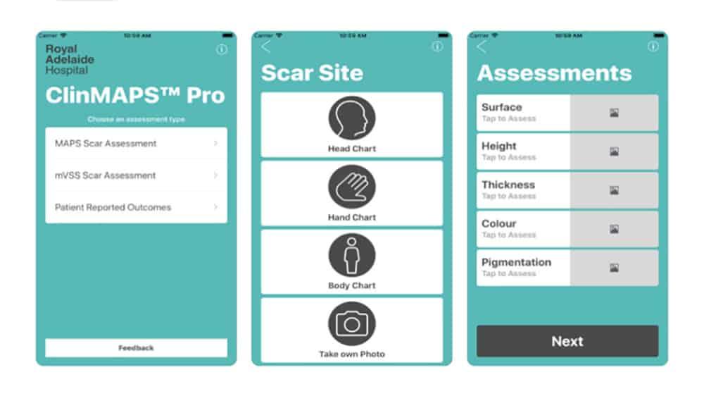 ClinMAPS PRO app