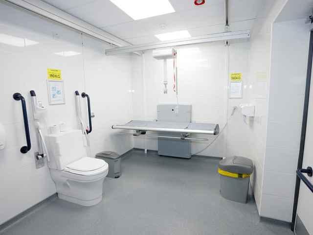 Closomat Changing Places toilet image