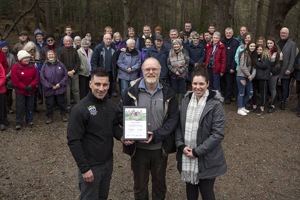 Paths For All at Evanton Community Woods image