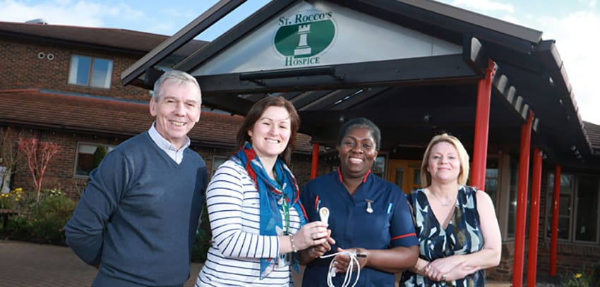 St Rocco's Hospice receives care equipment image