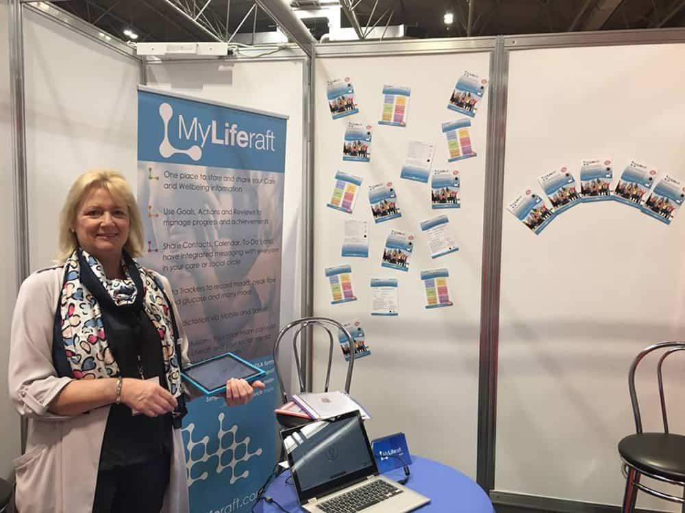 MyLiferaft at Naidex 2019 image