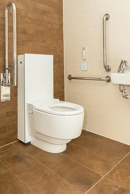 Geberit AquaClean Mera Care shower toilet image