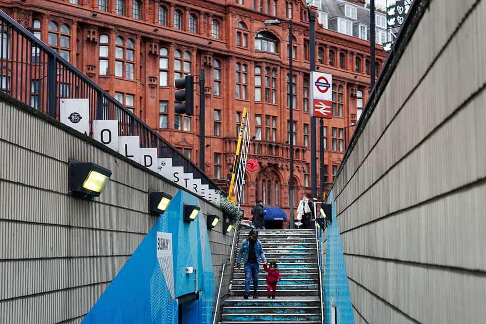 London Underground station image
