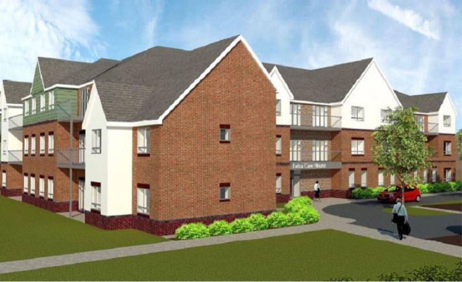 Shifnal extra care accommodation plans image