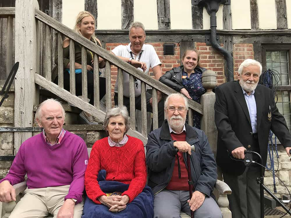 Residents and staff from the Solihull Home at Henley-in-Arden image