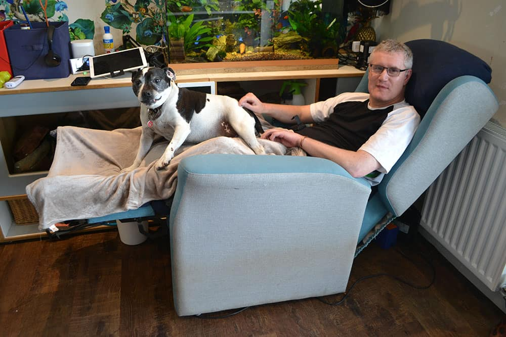 Stuart Philip in his Repose chair image