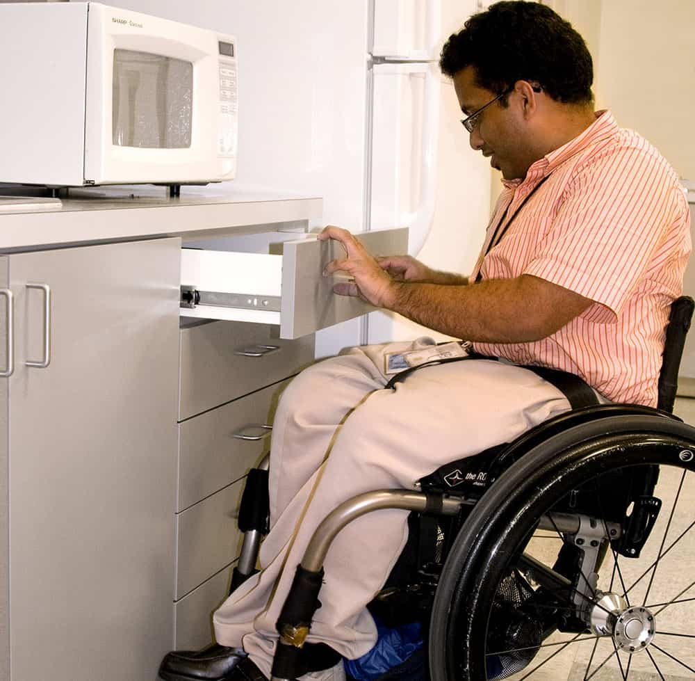 wheelchair user image