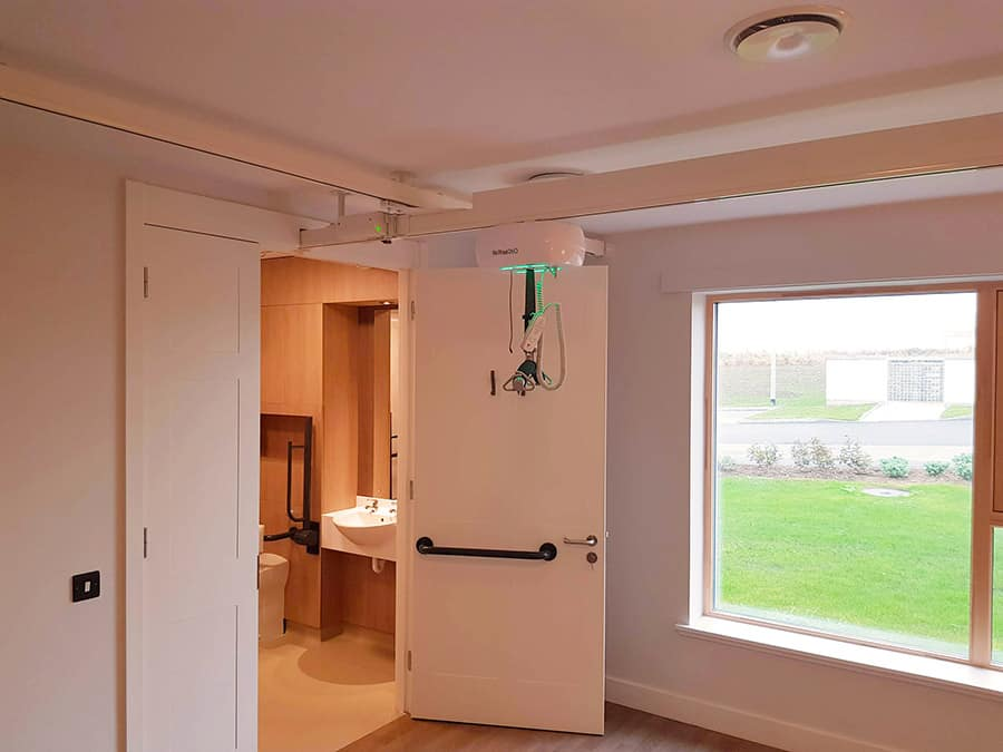Innova overhead hoist systems at the St Peters House care home image