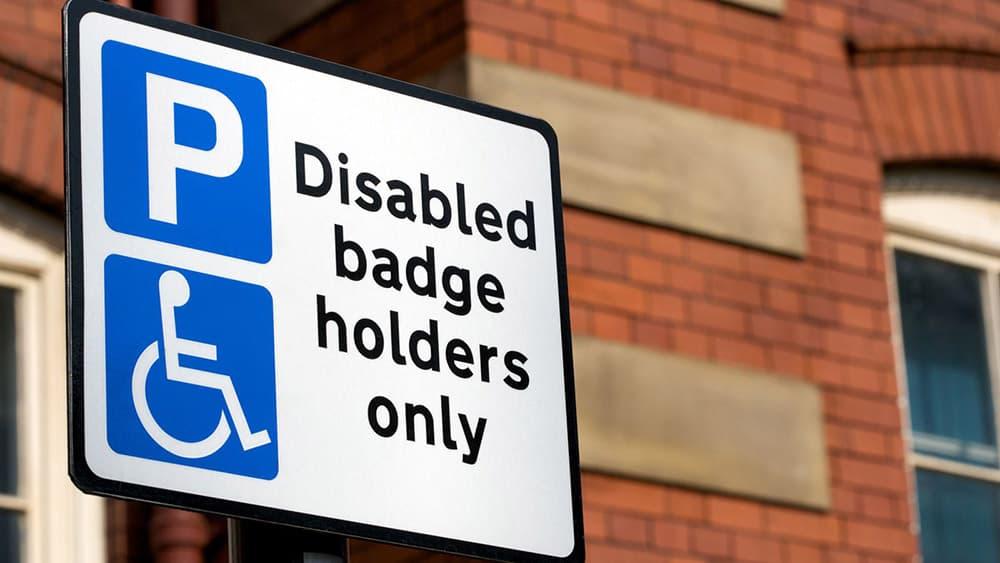 Blue Badge parking image