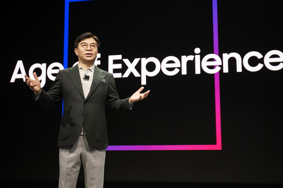 Samsung Age of Experience keynote at CES 2020 image