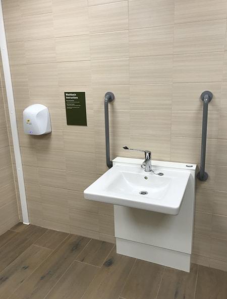 accessible bathroom image