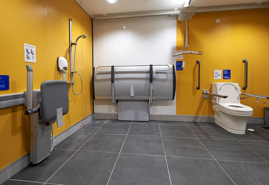Closomat Changing Places facility image
