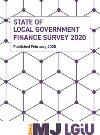 State of Local Government Finance Survey 2020 image