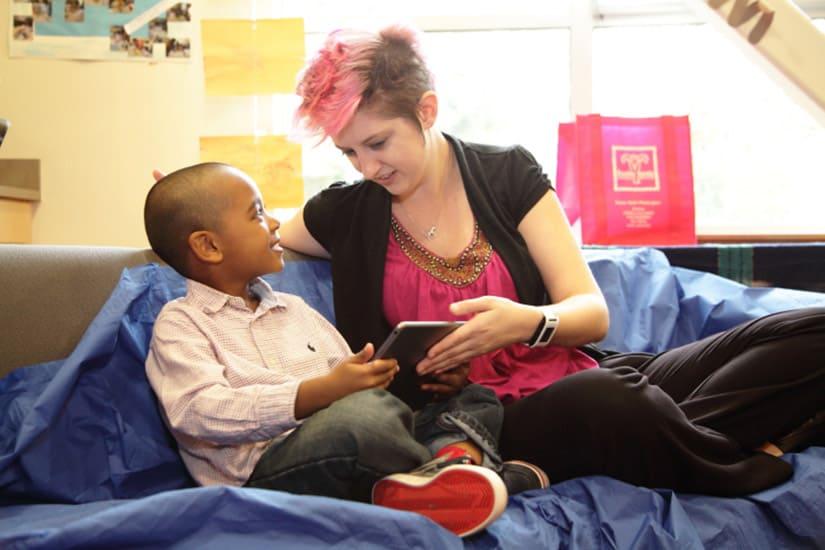 disabled children assistive tech