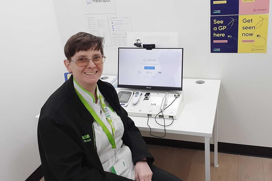 Asda Medicspot partnership image