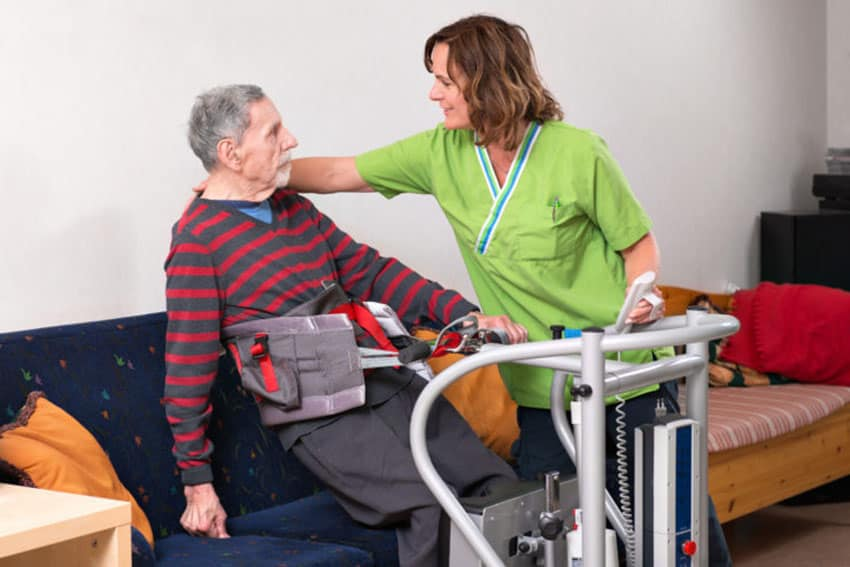 DHG acquires Handicare patient handling image