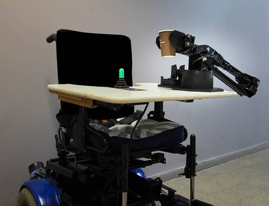 Intel robotic arm image