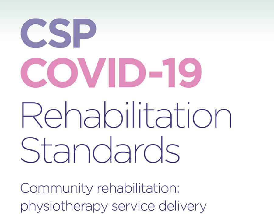 CSP COVID-19 rehabilitation standards image