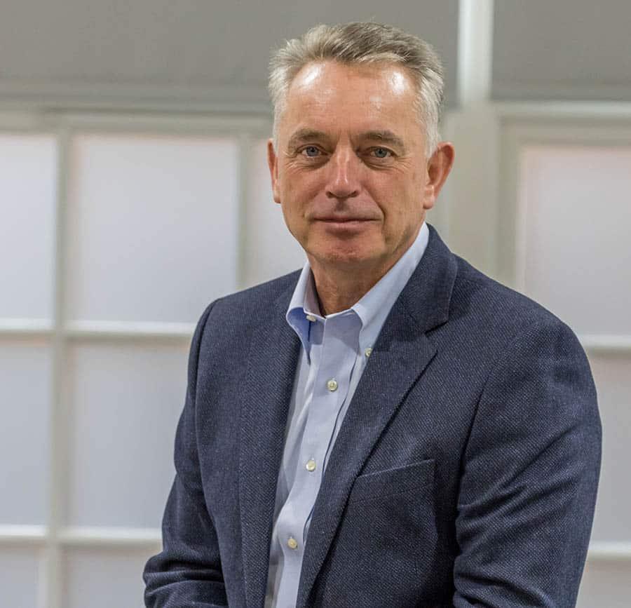 Gordon Sutherland, CEO of Tunstall Healthcare image