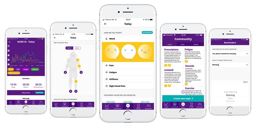 RheumaBuddy app image