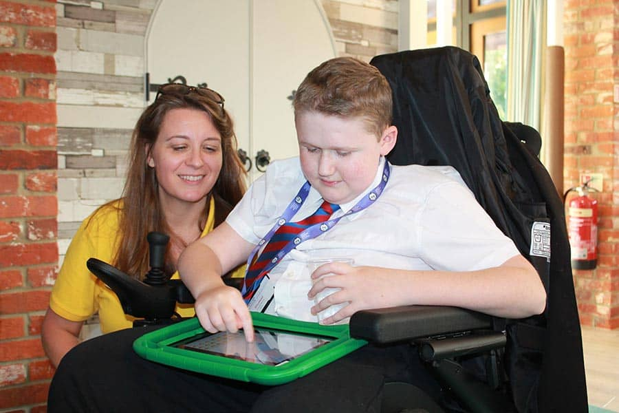 Lifelites donates assistive technology to The J's image