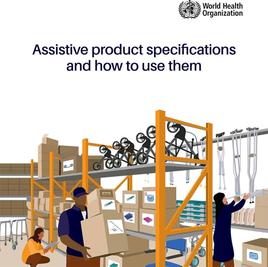 WHO assistive tech guide image