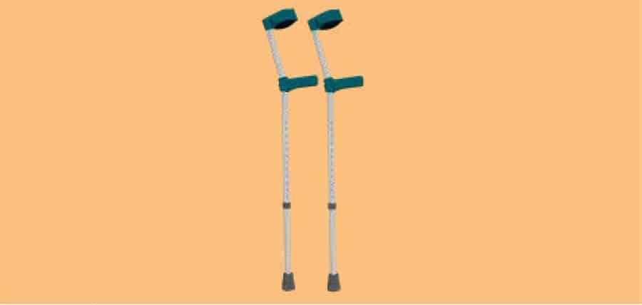 Elbow crutches image