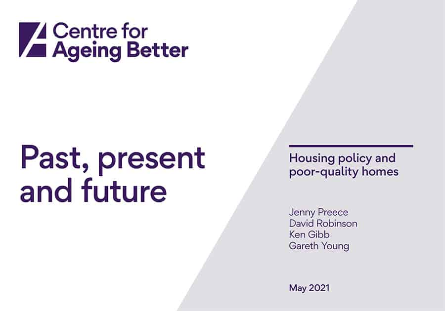 Past, present and future: housing policy and poor-quality homes report image