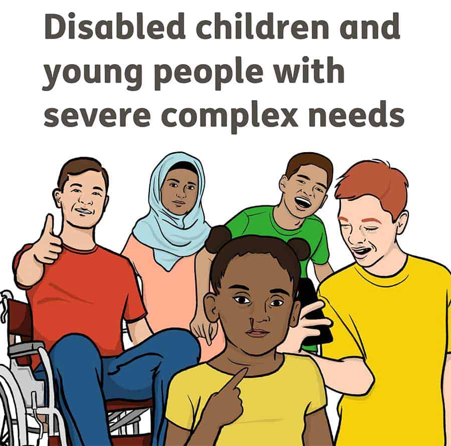 NICE consultation on Disabled children and young people with severe complex needs image