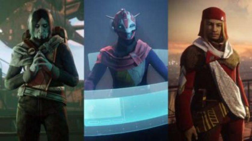 facções de Destiny 2