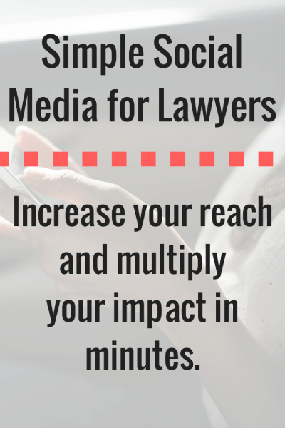 Simple Social Media for Lawyers (1)