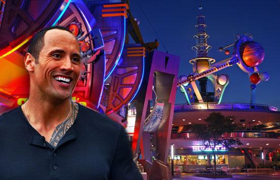 Dwayne Johnson Tomorrowland movie