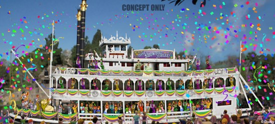 Tiana's Showboat Jubilee concept