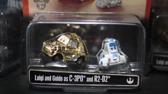 Star Wars Cars toys